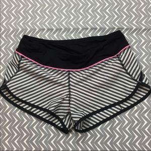 Lululemon Classic Stripe Shorts
